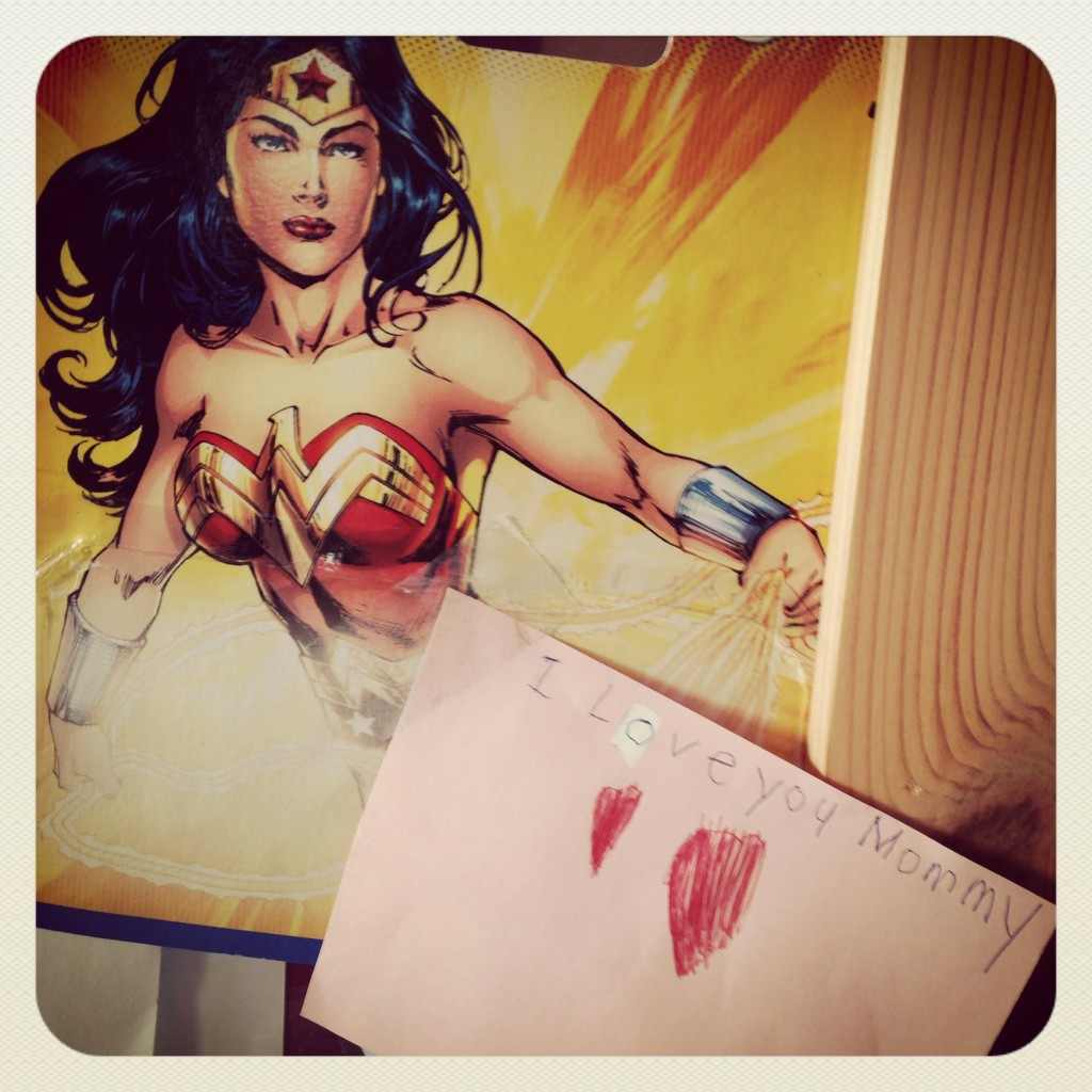 love and wonder woman