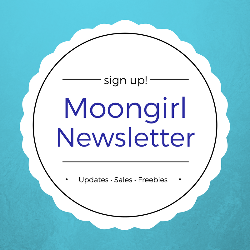 Moongirl Art Newsletter sign up is now available!