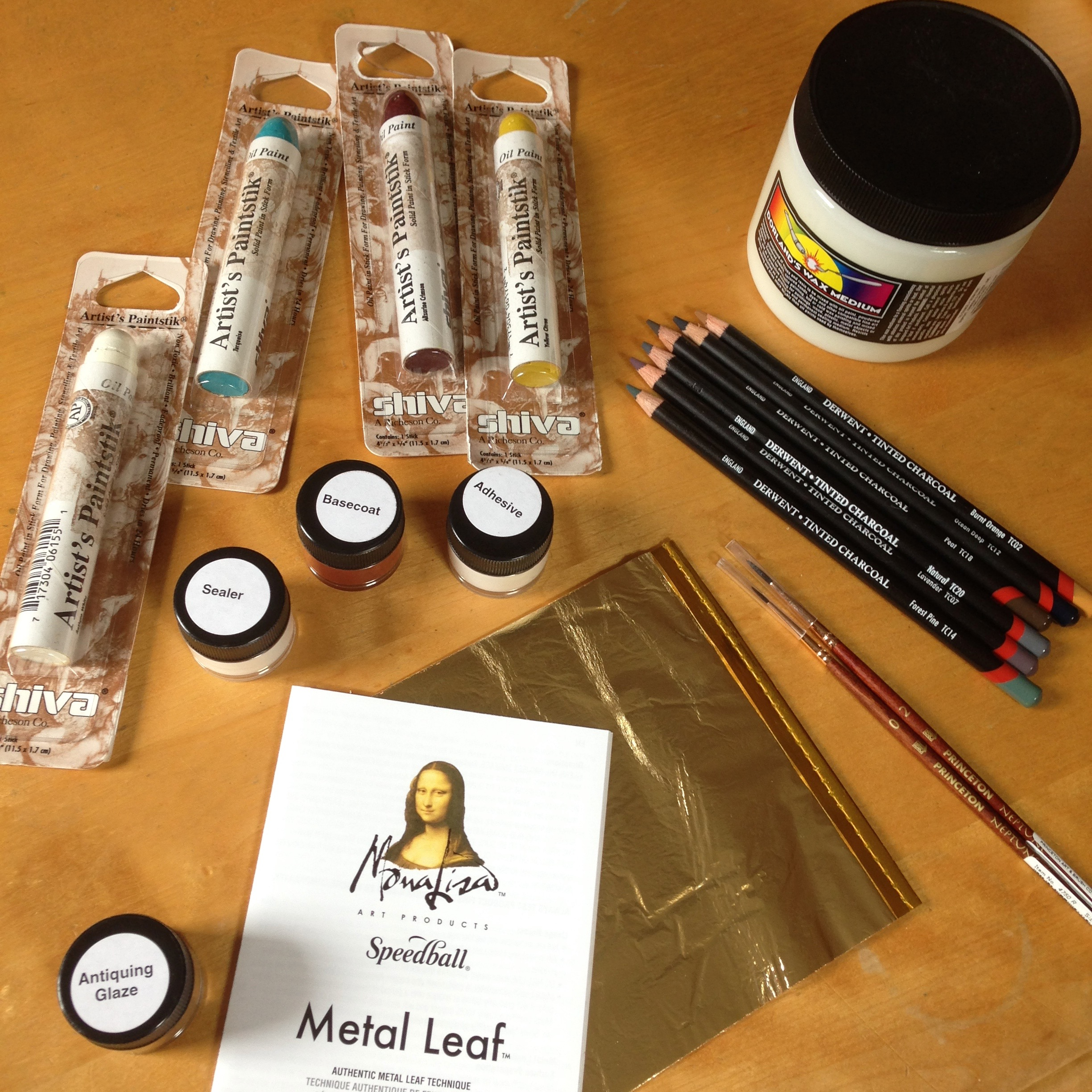 New art supplies I'm excited to share with you!